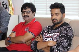 Santhanam, Vivek @ Sakka Podu Podu Raja Movie Pooja Stills