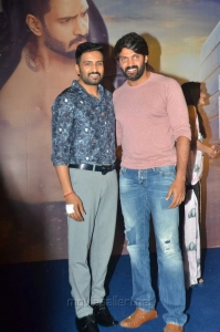 Santhanam, Arya @ Sakka Podu Podu Raja Trailer Launch Stills