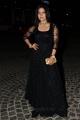 Actress Sakshi Agarwal Stills in Black Dress @ Filmfare Awards South 2017