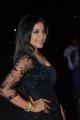 Actress Sakshi Agarwal Black Dress Stills @ Filmfare Awards South 2017