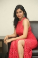 Telugu Actress Sakshi Kakkar in Red Dress Stills