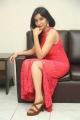 Telugu Actress Sakshi Kakkar in Red Dress Stills