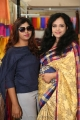 Sakshi Kakkar inaugurates Silk India Expo 2017 at Sri Satya Sai Nigamagamam