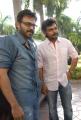 Venkatesh, Karthi at Sakuni Telugu Movie Audio Release Stills