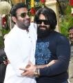 Prabhas, Yash @ Salaar Movie Launch Stills