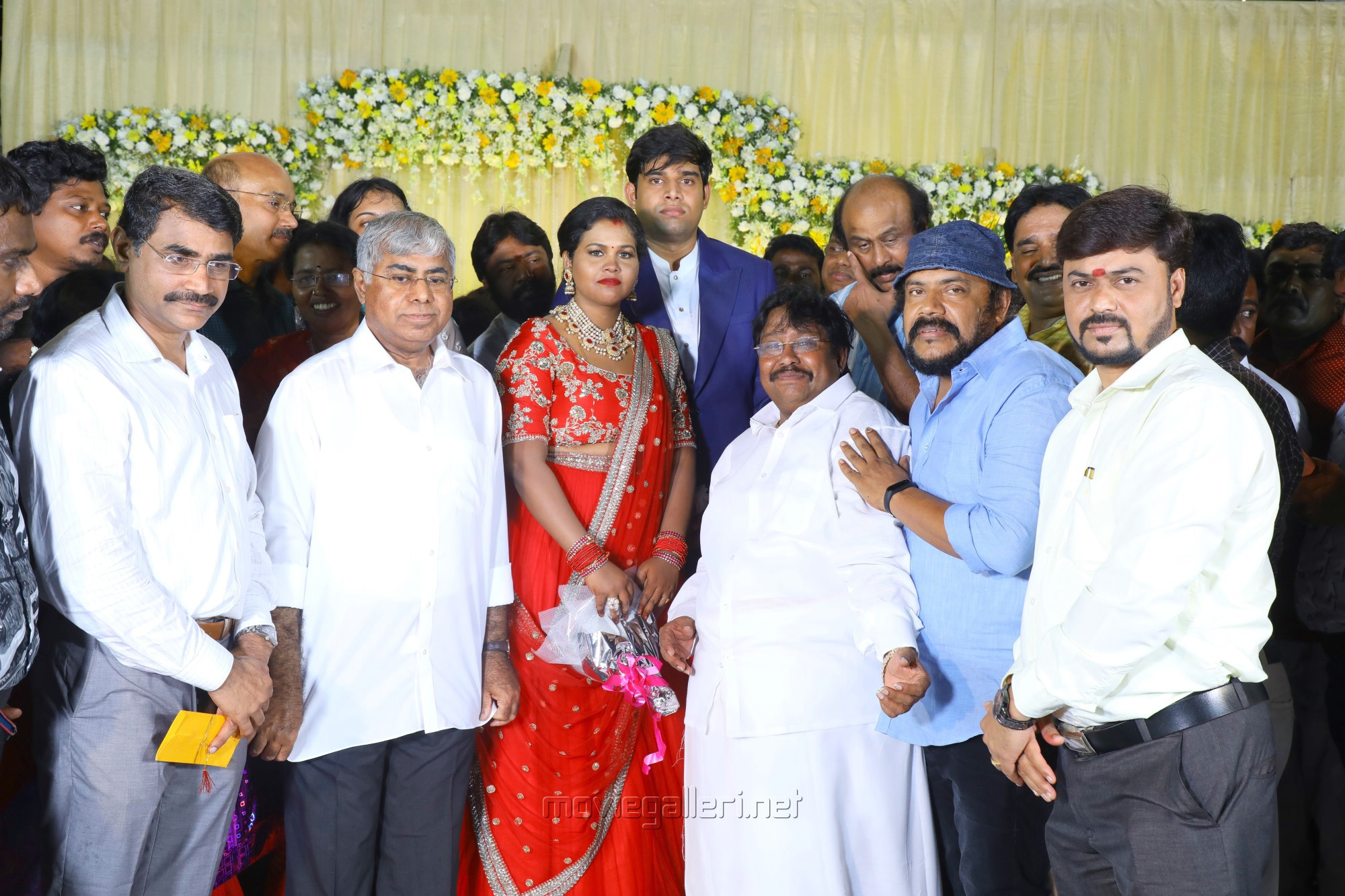 Joe Malloori @ Salem RR Briyani Tamilselvan daughter Wedding Reception Stills