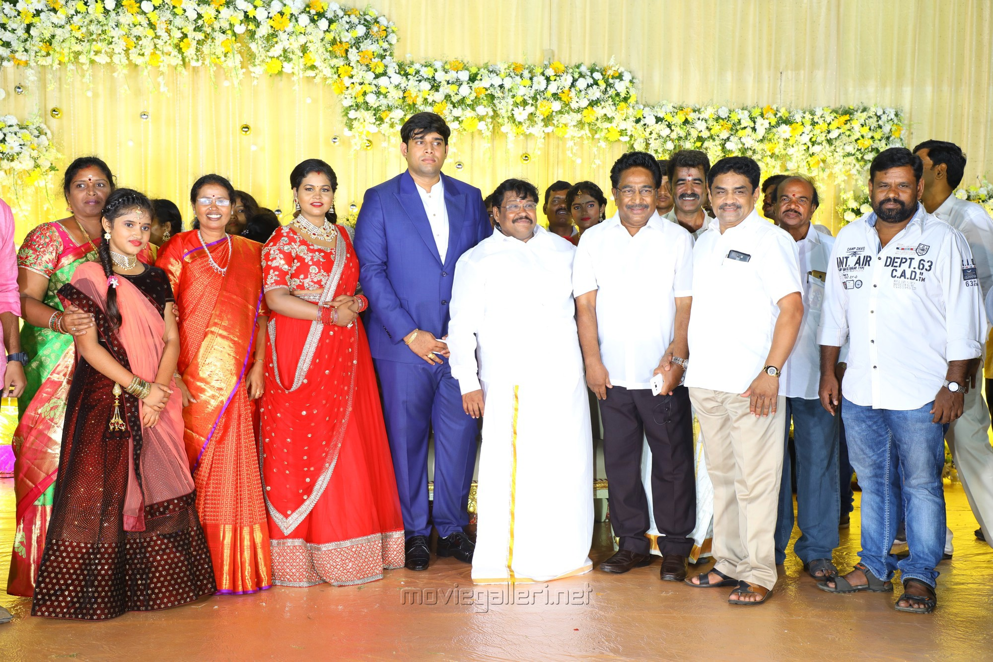 Rajesh @ Salem RR Briyani Tamilselvan daughter Wedding Reception Stills