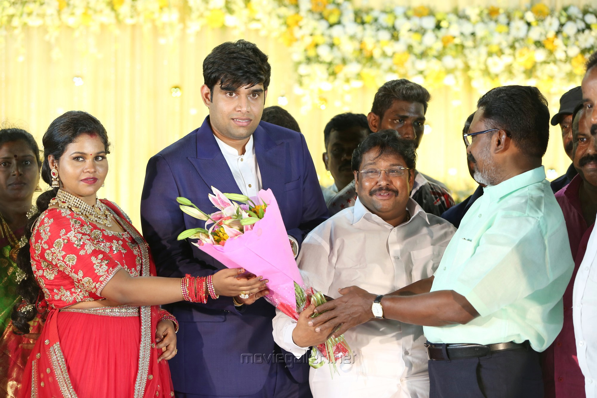 Thol Thirumavalavan @ Salem RR Briyani Tamilselvan daughter Wedding Reception Stills