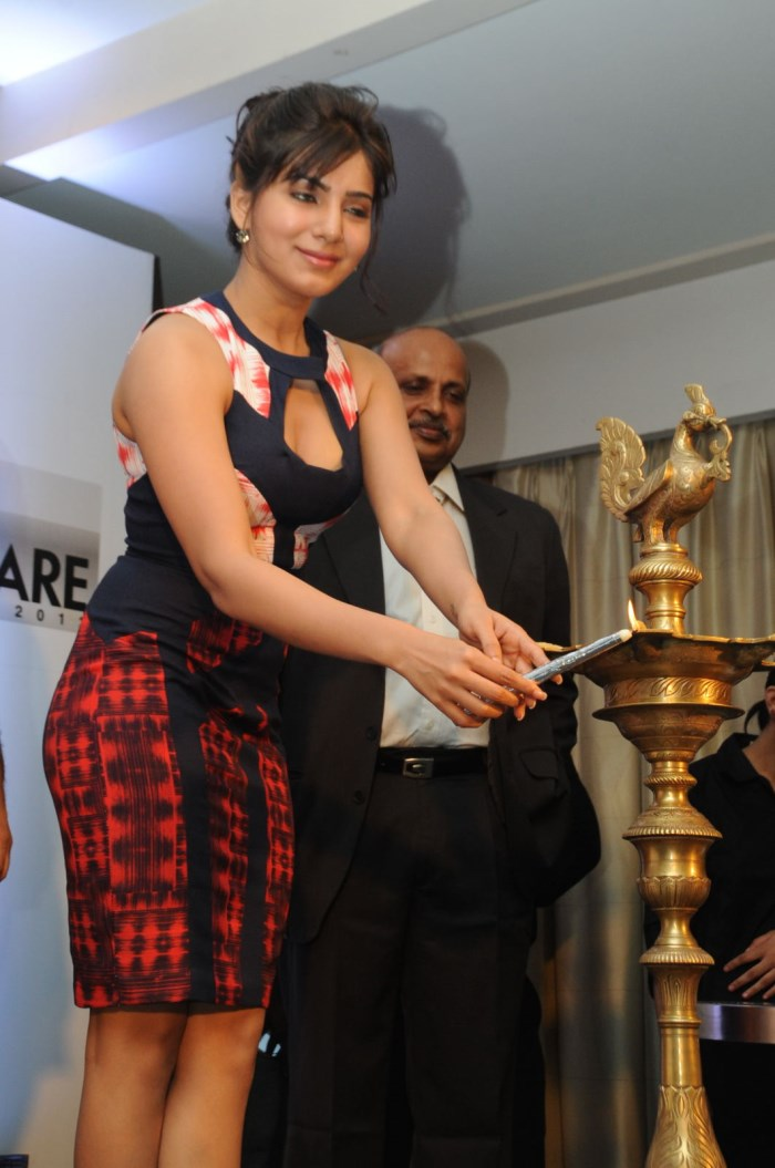 60th Idea Filmfare Awards (South) Press Conference with Samantha