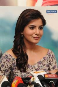 Actress Samantha Images @  Attarintiki Daredi 25days Press Meet