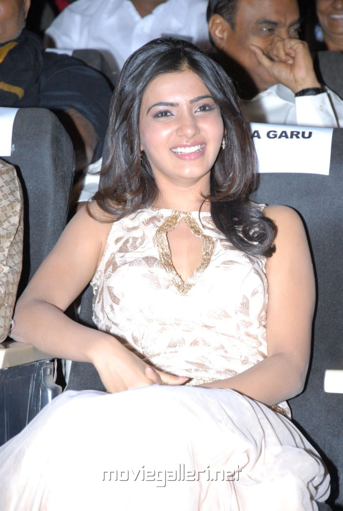 Actress Samantha at Eega Audio Release Function