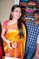 Samantha Cute Silk Saree Stills