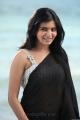 Jabardasth Actress Samantha Hot Black Saree Photos