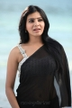 Jabardasth Actress Samantha Black Saree Photos