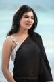 Jabardasth Actress Samantha Black Saree Hot Photos