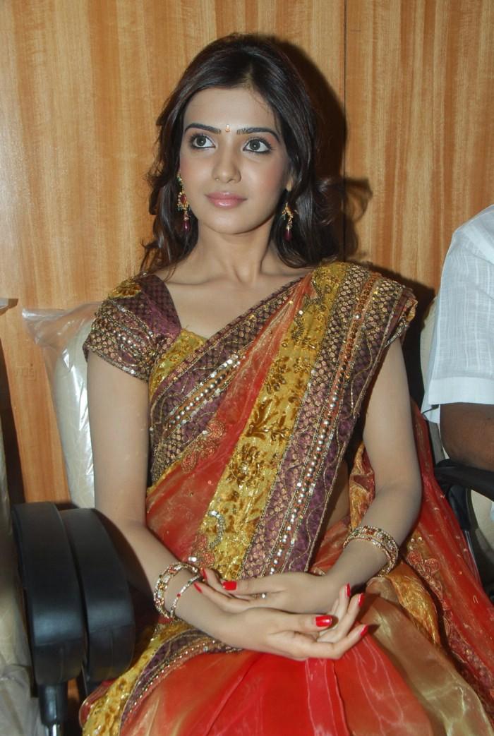 Samantha tamil actress saree