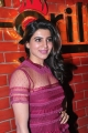 Actress Samantha Hot Red Dress Pics @ T-Grill Launch