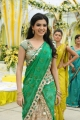 Samantha Green Saree Photos