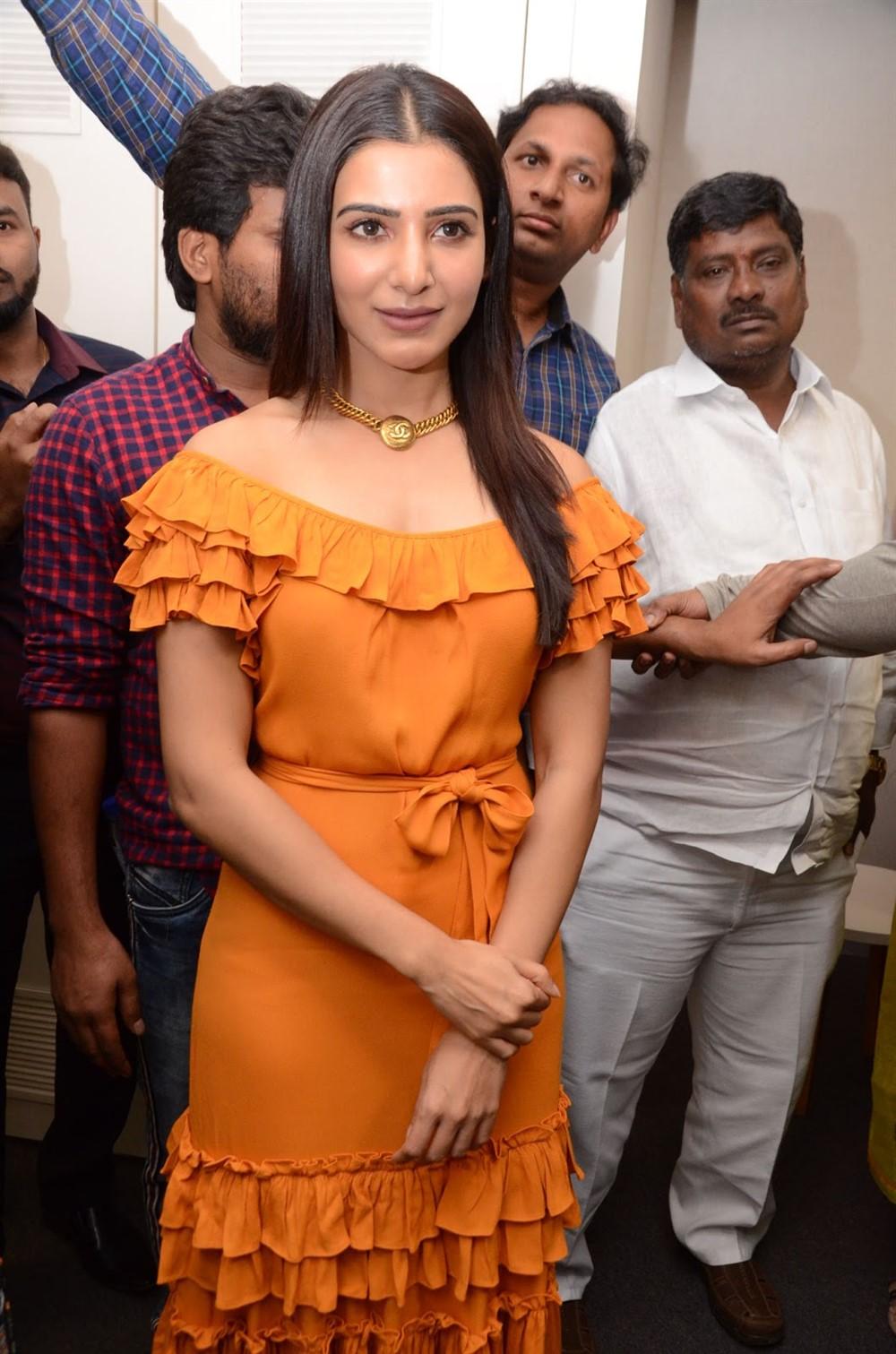 Actress Samantha Akkineni launches Azent Overseas Education Center Hyderabad Photos