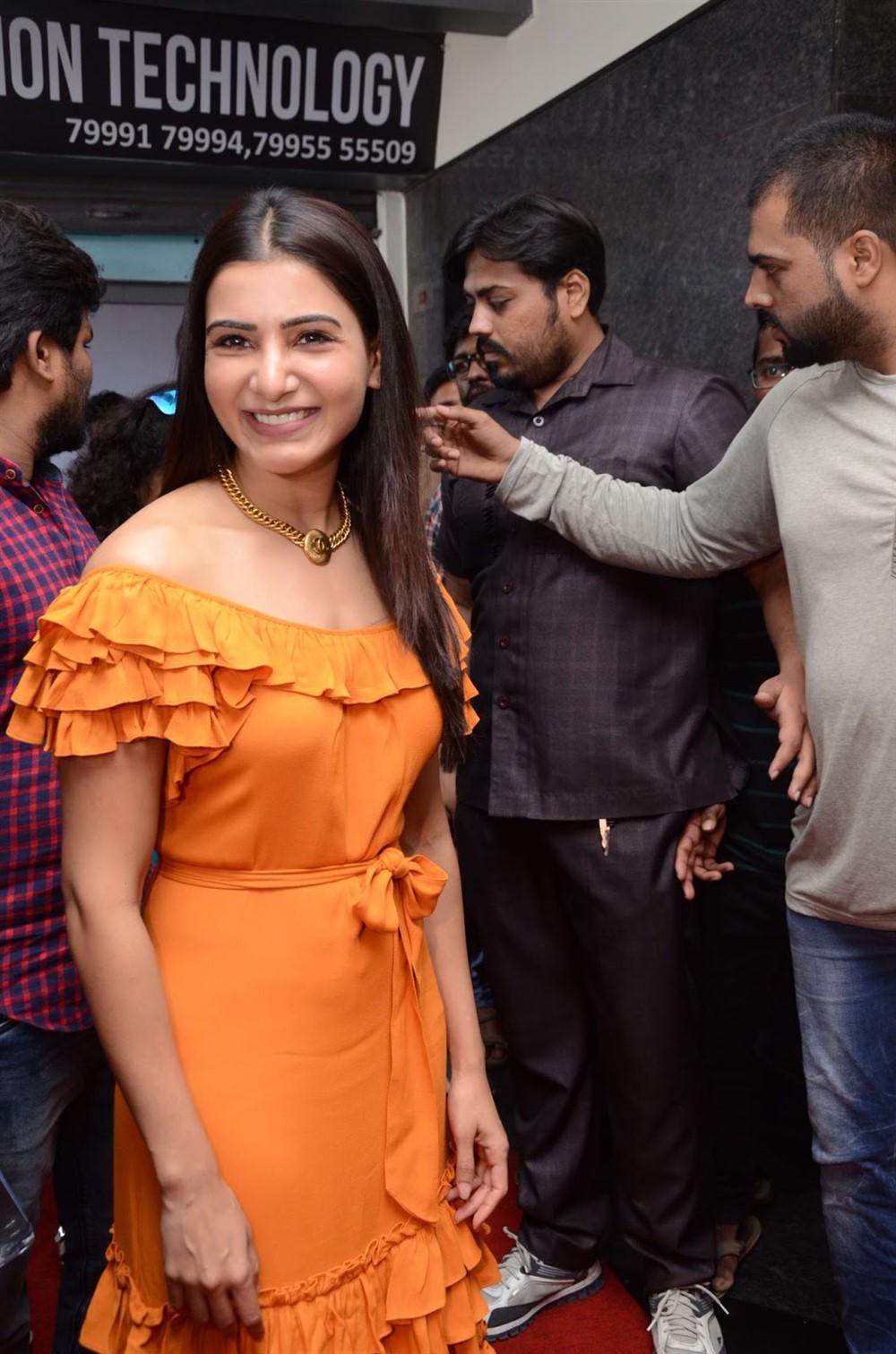 Actress Samantha launches Azent Overseas Education Center Hyderabad Photos