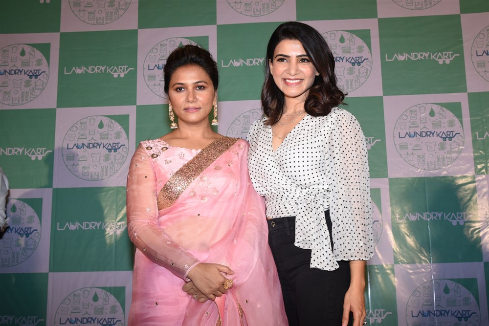 Laundry Kart App Launch By Samantha Akkineni at Prasad Labs, Banjara Hills