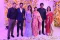 A Mahesh Reddy, Nagarjuna, Amala @ Samantha Naga Chaitanya Wedding Reception Photos