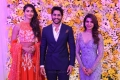 Actress Pooja Hegde @ Samantha Naga Chaitanya Wedding Reception Photos