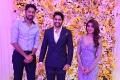 Allari Naresh @ Samantha Naga Chaitanya Wedding Reception Photos