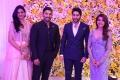 Sneha Reddy, Allu Arjun @ Samantha Naga Chaitanya Wedding Reception Photos
