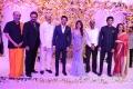 D Suresh Babu, Venkatesh, Nagarjuna, Amala @ Samantha Naga Chaitanya Wedding Reception Photos