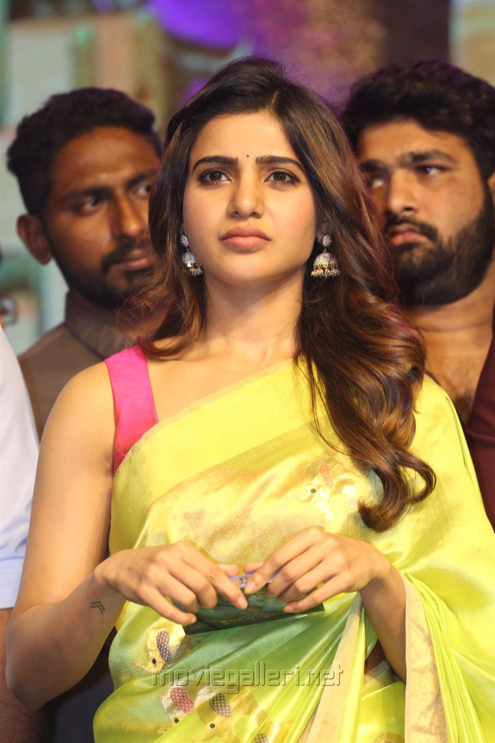 Actress Samantha Saree Photos @ Balakrishnudu Audio Launch