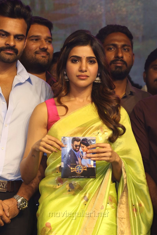 Actress Samantha Photos @ Balakrishnudu Audio Launch