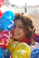 Actress Samantha with Colorful Balloons Cute Images