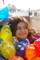 Cute Samantha with Colorful Balloons Images