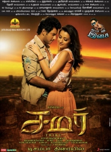 Vishal, Trisha in Samar Movie Posters