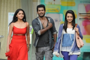 Sunaina,Vishal,Trisha in Samar Tamil Movie Stills