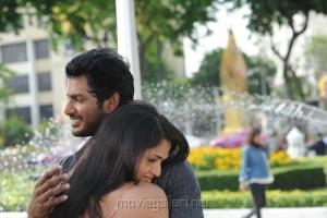 Vishal, Sunaina in Samar Tamil Movie Stills