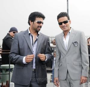 JD Chakravarthy,Manoj Bajpai in Samar Tamil Movie Stills