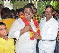 John Max, Kalaipuli S Thanu @ Sambavam Movie Pooja Stills