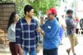Sudheer Babu, Mohan Krishna Indraganti @ Sammohanam Movie Workibng Stills HD