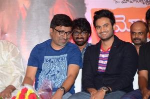 Mohan Krishna Indraganti, Sudheer Babu @ Sammohanam Movie Success Meet Stills