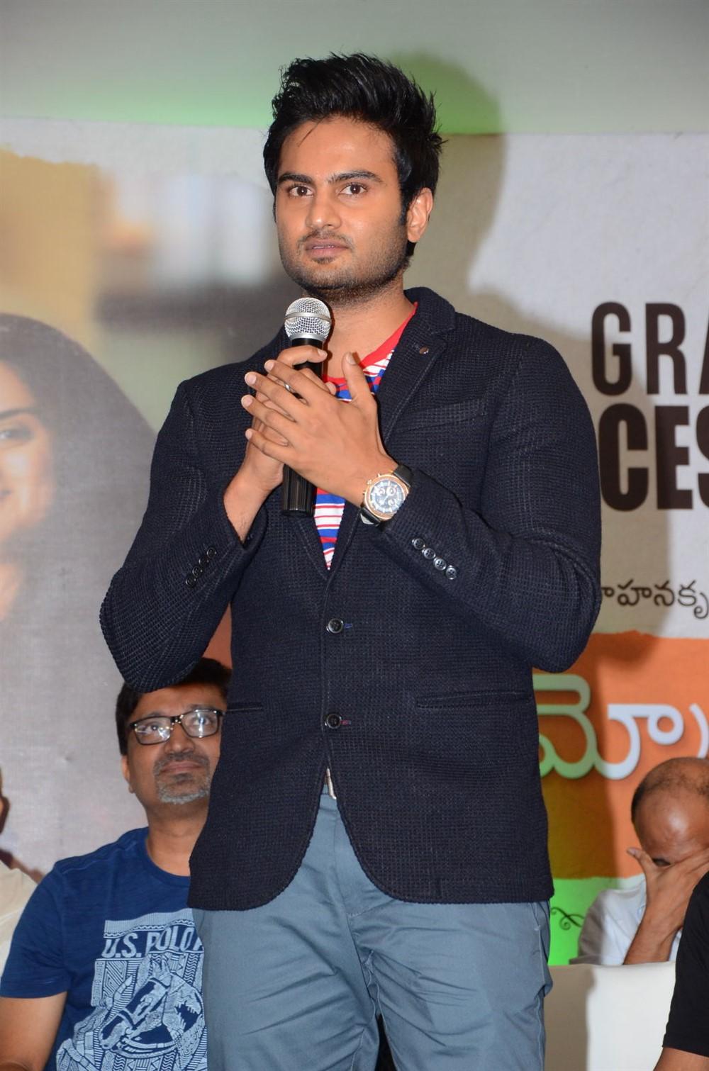 Sudheer Babu @ Sammohanam Movie Success Meet Stills