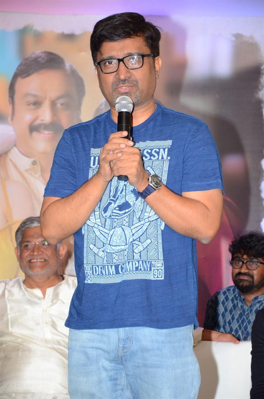 Director Mohan Krishna Indraganti @ Sammohanam Movie Success Meet Stills