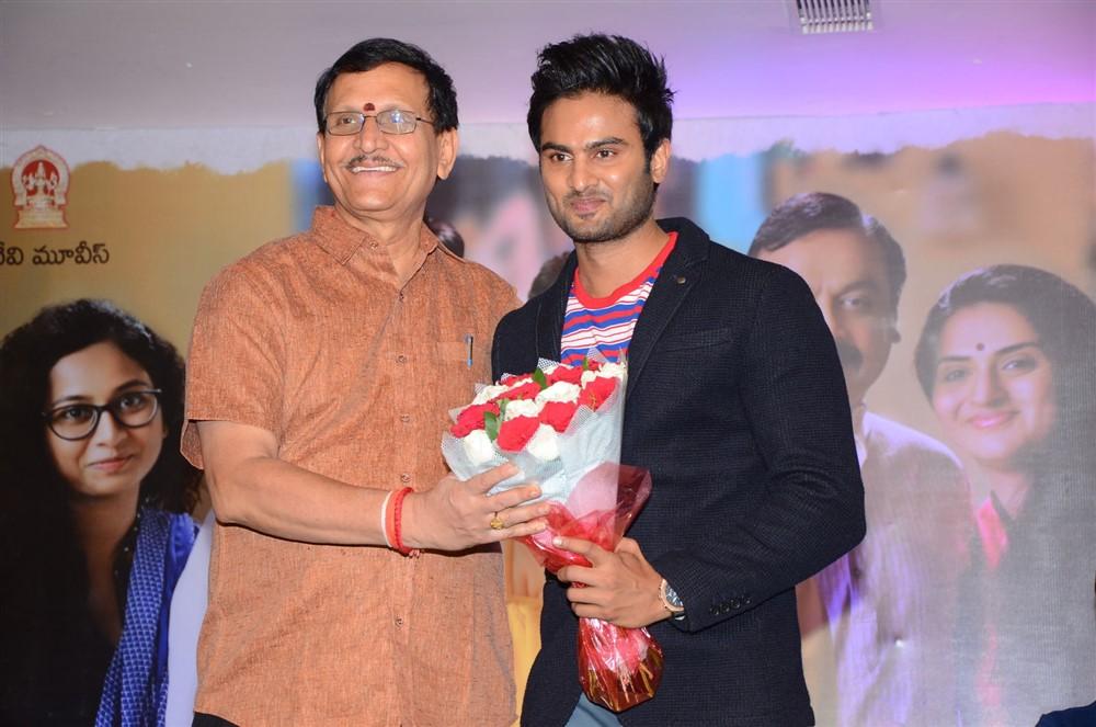 Sivalenka Krishna Prasad, Sudheer Babu @ Sammohanam Movie Success Meet Stills
