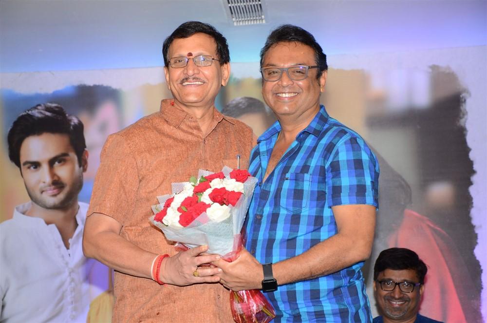 Sivalenka Krishna Prasad, Vijaya Naresh @ Sammohanam Movie Success Meet Stills