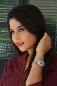 Actress Sampada Hulivana Photos @ Mass Maharaja Movie Opening