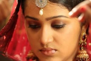 Actress Samskruthy Shenoy Cute Stills in Nikkah Malayalam Movie