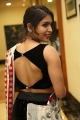 Actress Samyuktha Hegde Hot in Sleeveless Black Blouse Pics