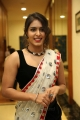 Actress Samyuktha Hegde Hot Pics in White Saree & Sleeveless Black Blouse
