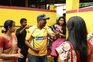 Actress Sana Althaf Photos in Chennai 28 Second Innings Shooting Spot